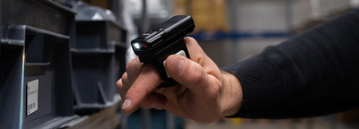 The wearable RS60 Ring Scanner is a comfortable hands-free scanning solution for use in warehouses, retail, distribution and other situations requiring highly mobile scanning